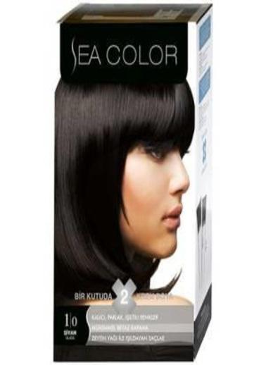 Sea Sea Color 2 Li Saç Boyası 1-0 Siyah